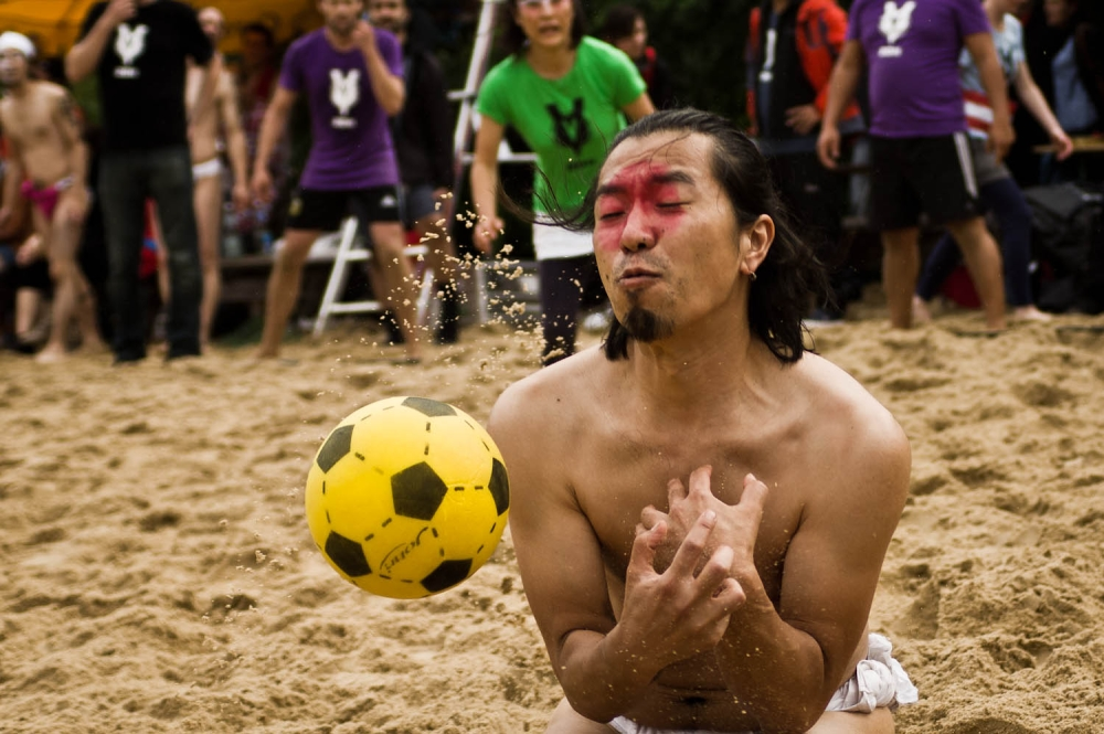 Beach Dodge Ball